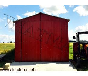 Garaże blaszane,wiaty garażowe,blaszki,hale, i inne.